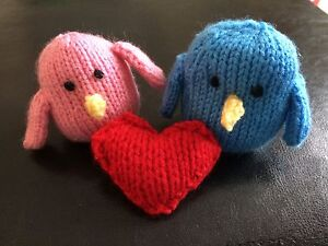 Knit Lovebirds