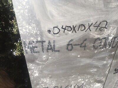 .040 X 12 X 6.250 6al-4v Titanium Sheet