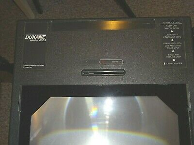 Dukane Overhead Projector-fully Operational-working Lamp-cover-nice