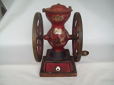 Antique ENTERPRISE M' F' G. CO. PHILADELPHIA U.S.A. NO 2. Coffee grinder mill