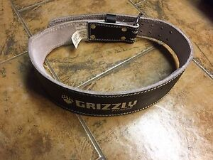 Grizzly weight lifting belt