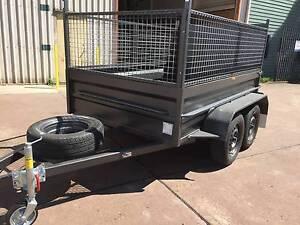 TANDEM 8X5 HI SIDE RAMP 600MM CAGE 1Y PRIV REGO 1Y WARRANTY $3000 Smithfield Parramatta Area Preview