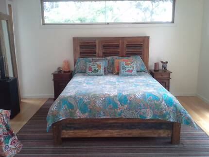 Bed - Made from reclaimed timbres