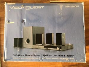 WVQM – 2200 HT DVD home theater system