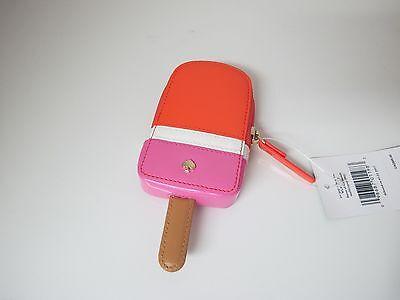 New Kate Spade Ice Cream Bar Ice Pop Coin Purse Case Wallet