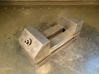 3-12 Wide Jaw Precision Toolmakers Grinding Vise Jaws Open 4-12 Used Good