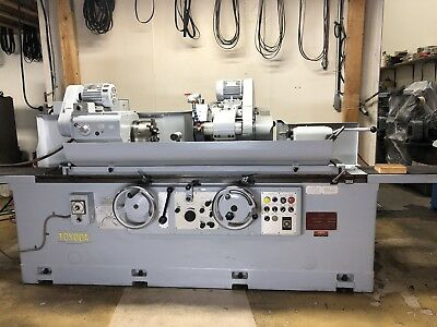 Toyoda Cylindrical Grinder Gup 32-100 With Drop Down Id Grinding1985-1987
