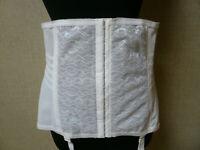 Rago Shapette Open Bottom Beige Garter Girdle Plus Size 38//4XL