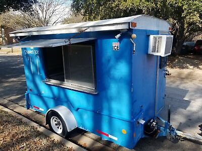Turnkey 6 X 10 Erskine And Sons Shaved Ice Concession Trailer Snowball Stan