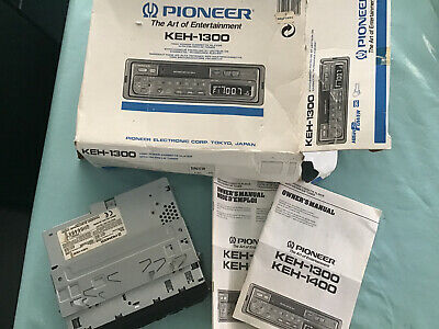 Pioneer KEH-1300 Car Stereo Cassette Player FM Radio. Untested segunda mano  Embacar hacia Mexico