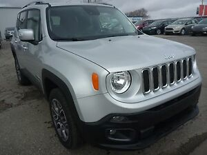 2016 Jeep Renegade Limited DVD's, leather, remote start