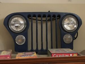 Vintage Bar Collectables- Jeep Grill, Hockey, Advertisements