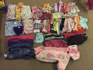 Assorted girls clothing infant and up