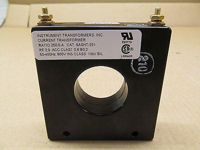 1 New Instrument Transformers 5asht-251 5asht251 Current Transformer Ratio 2505
