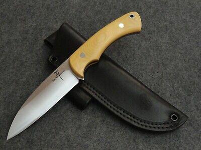 "ZOE CRIST [BARK RIVER CLAN] ""FIRECREEK"" SEAX HUNTING SURVIVAL HUNT KNIFE 210907"