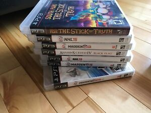 Ps3, 3 controllers and 7 games