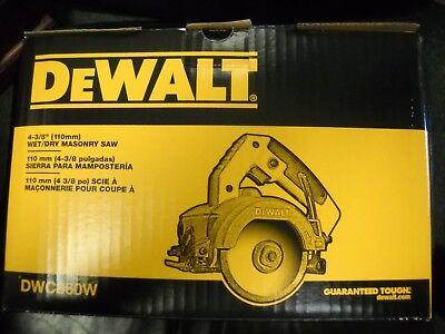 DeWALT DWC860W HD 4-3/8'' 10.8 Amp Wet Dry Handheld Tile Stone Masonry Saw NEW (Tile & Amp ; Stone)