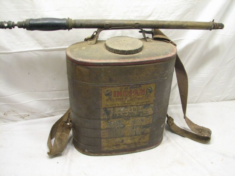 VintageSmith Indian No. 90 Fire Extinguisher Backpack Sprayer Air Cooled
