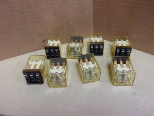 Idec RR3B-UL Relay , lot of 8 , used