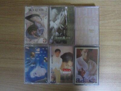 ANDY LAU 劉德華 Korea 6 Factory Sealed Cassette Tape