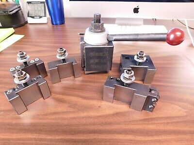 Phase Ii Series Bxa Wedge Type Tool Post And Holder Set 251-222