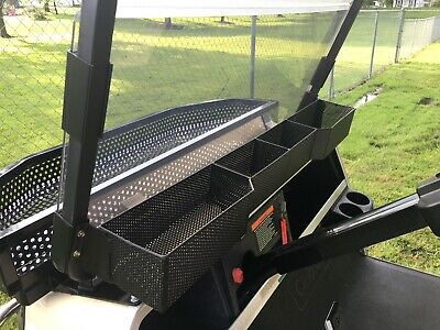Golf Cart Dash - Club Car DS / Carry All Golf Cart Front Basket Dash Storage / Tray Organizer