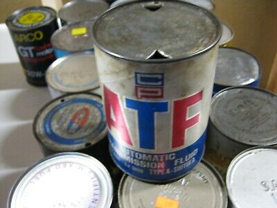VINTAGE OIL CAN COLLECTION SELL OUT FREE SHIPPING ATF