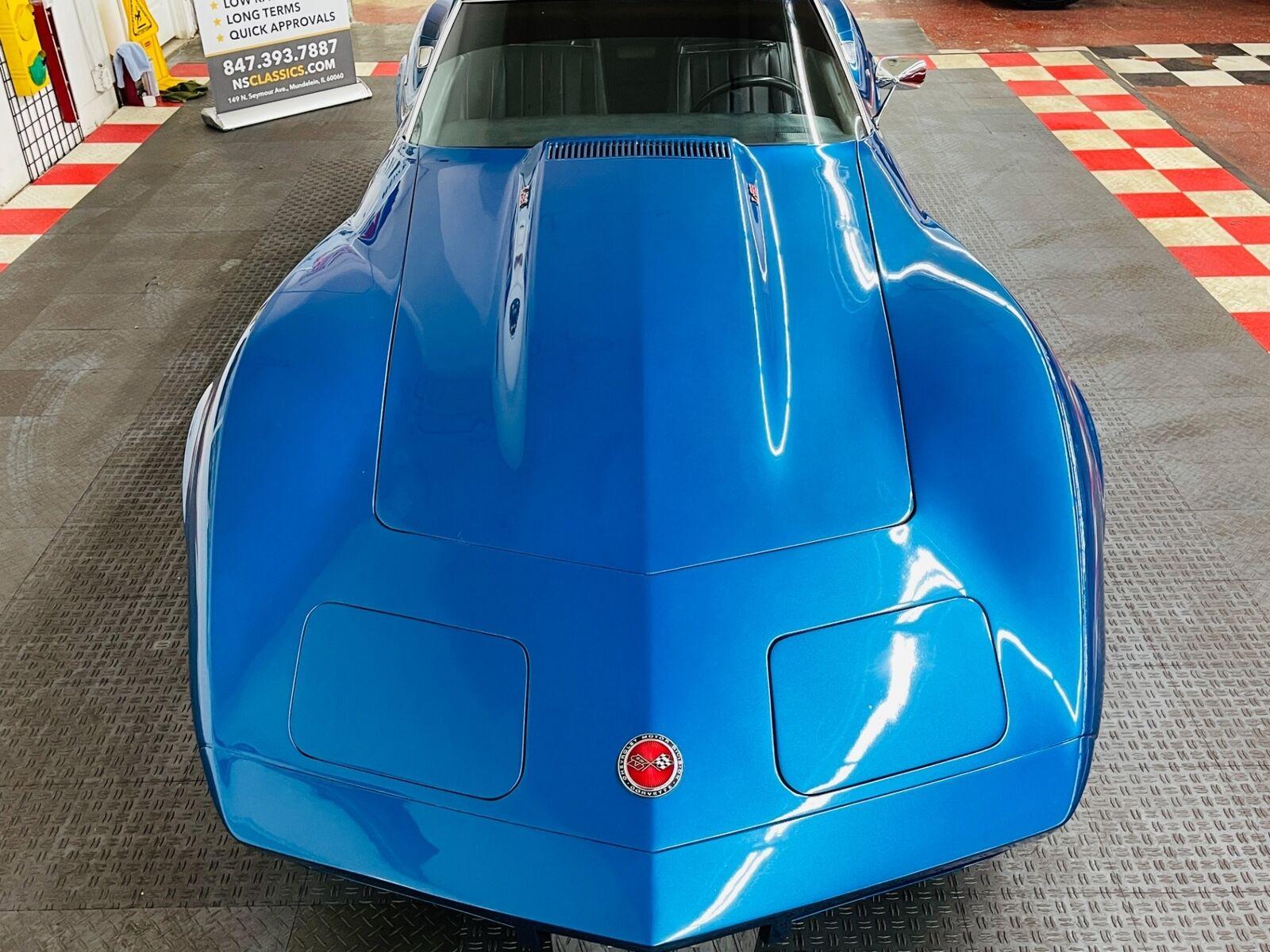 1973 Blue Chevrolet Corvette Coupe  | C3 Corvette Photo 10