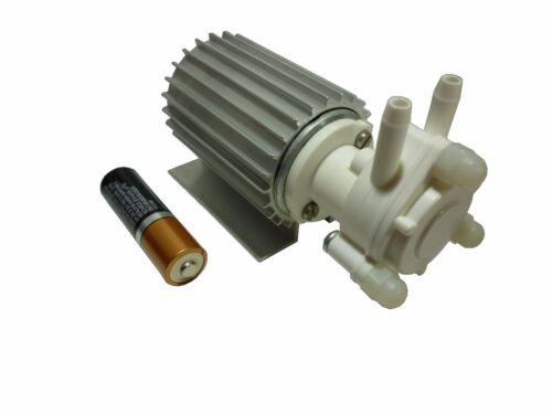Gear Pump Micro Mini Self Priming Inline Oil High Pressure 24 VDC 34 GPH GM2024