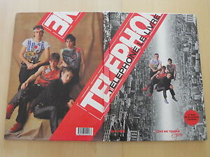 """1983 TELEPHONE LE LIVRE EO 1ERE EDITION - France - Commentaires du vendeur : """"édition originale 1983 groupe téléphone"""" - France"""