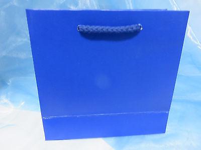 Kleine Geschenktasche - Uni - blau   * bsb *  892-324 ()