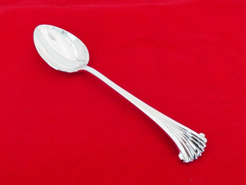 Tuttle Sterling Silver Onslow with LBJ Mark Serving Spoon ZE-18
