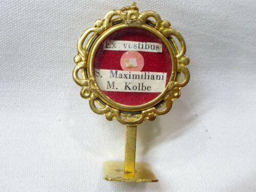 ✝ Reliquary Relic Class St. Maximilian Kolbe