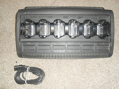 Motorola Wpln4108ar Impres 6 Multi-unit Charging Port For Your Radio Battery