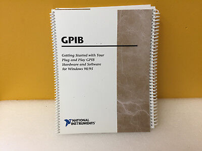 National Instruents Gpib Getting Started Guide For Gpib Software For Win 9895