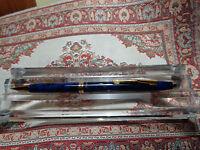 rotring Side Knock pencil blau-mamor mit Seitendruckmechanick