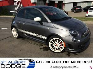 2012 FIAT 500 ABARTH | 5SPD MANUAL | PWR SUN | LEATHER