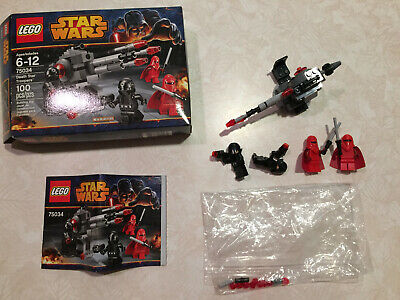LEGO 75034 Star Wars Death Star Troopers COMPLETE