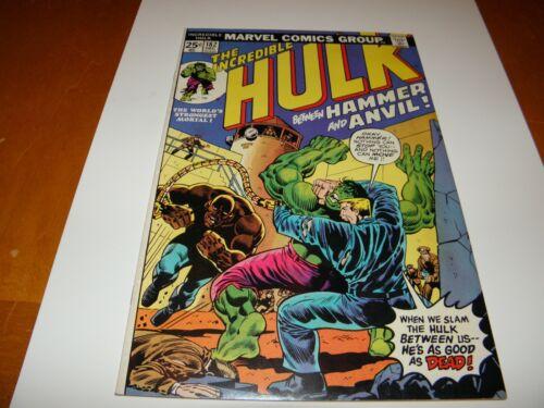 Incredible Hulk #182 Dec 1974 3rd Appearance Wolverine Len Wein Trimpe C/A FN/VF