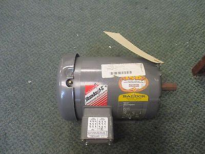 Baldor Industrial Motor M3546t 1hp 1740rpm 230460v 2.81.4a New Surplus