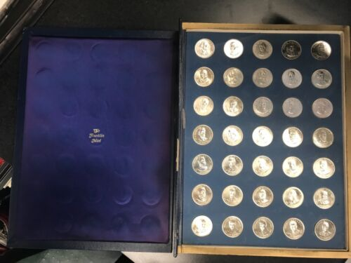 Treasury of Presidential Commemorative Medals - Franklin Mint   C-378