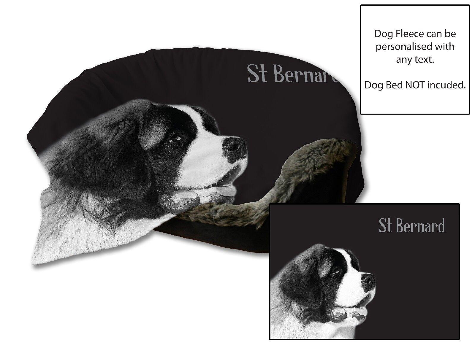 114cmx78.7cm SAN BERNARD letto per cane AUTO Coperta in morbido pile Copriletto