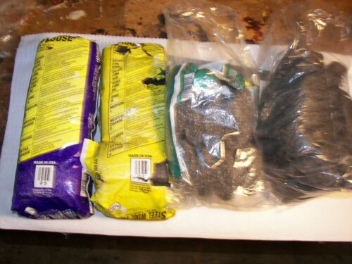 Steel Wool 4 varieties lot over 50 pads Made in the USA!!