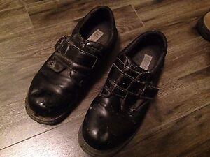 Men's Black Leather Platform Shoes For Sale