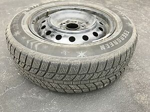 Winter Tires with Steel Rims 205 65 16
