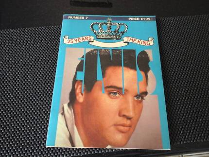 Elvis 25 Years The King Magazine Number 7 (Signed)
