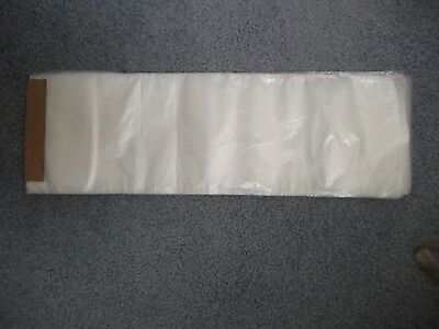 Poly Newspaper Bags 3000 Ct. Silver Tint. 5 12x17 0.4mil Perforate Bags.