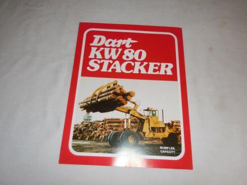 1976 DART MODEL KW 80 LOG STACKER SALES BROCHURE