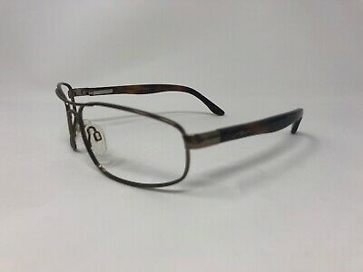"ACTION OPTICS ""KENAI"" Sunglasses Frame Japan Aviator Gold/Tortoise Wrap PS74"