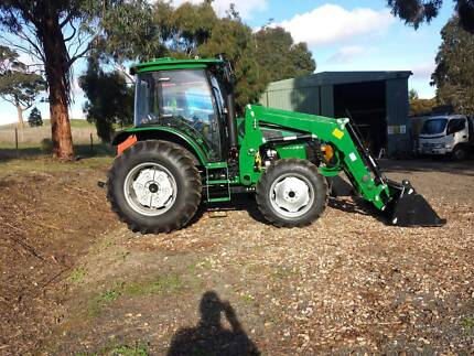 Changfa 804 80 HP Cabin Tractor with 4in1 loader